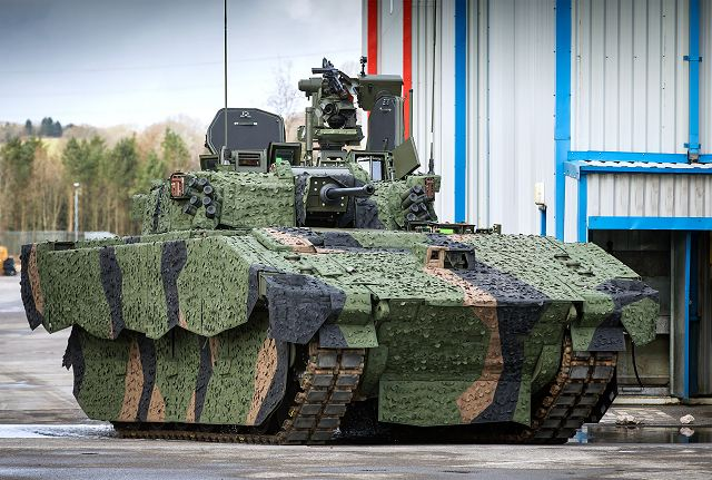 General Dynamics Land Systems-UK inaugurates new Armoured Fighting Vehicle facility for AJAX 640 002