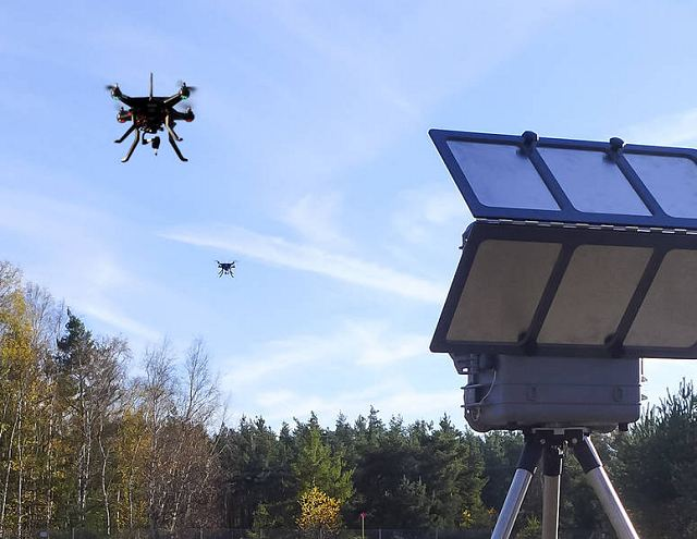 German Company Dhiel Defense has developed new countermeasure system HPEM against UAVs 640 001