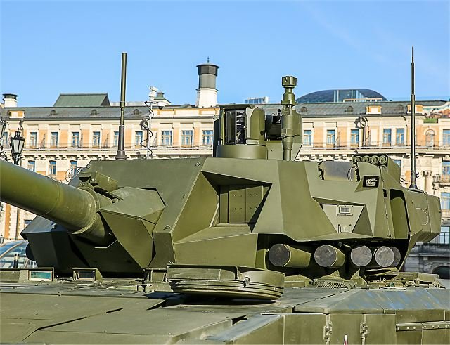IRussia Armata advanced platform to get upgraded active protection system with UV detector 640 001