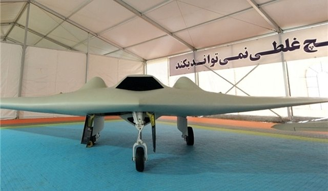 Iran manufactured an improved version of the US spy Drone RQ 170 640 001