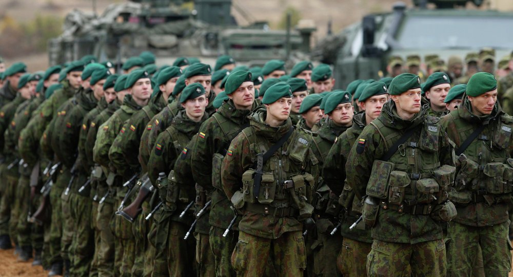 Lithuania will reintroduce permanent mandatory military conscription 640 001