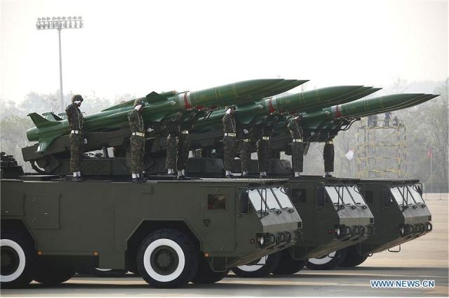 New Belarus air defense missile system Kvadrat-M in service with Myanmar armed forces 640 001