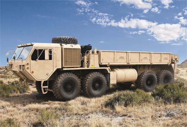 Oshkosh Defense to upgrade 1212 Heavy Tactical Vehicles FHTV for US Army 640 001