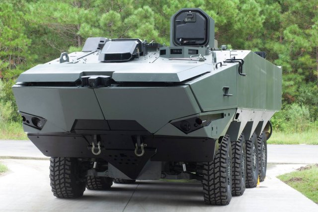 SAIC receives 121mn prime contract from USMC for 13 Terrex 2 prototypes 640 001