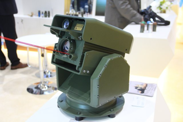 Slovak company SEC Technologies presents the Falcon 4G stand off detector at ISNR 2016 640 001