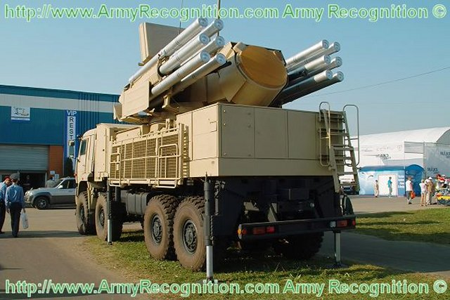 Two Pantsir S air defense missile systems to be supplied to the Moscow region s military 640 001