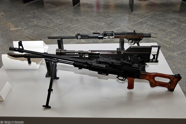Russian Armed Forces will have Kalashnikov 7.62mm PKM machine gun replaced by modern PKP Pecheneg (Russian designation: 6P45) machineguns, according to a source in Russian defense industry.