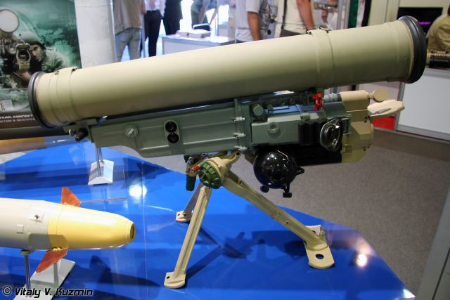 Russian Armed Forces are receiving new Kornet-M (NATO reporting name: AT-14 Spriggan) and man-portable 9K115-2 Metis-M1 (AT-13 Saxhorn-2) anti-tank guided missile (ATGM) systems, according to a source within Russian defense industry.