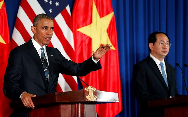 United States to lift completely embargo on lethal weapons for Vietnam 640 001