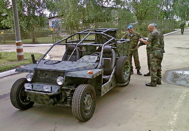 First heavy buggy for Russian Special Forces will be presented in February next year 640 001