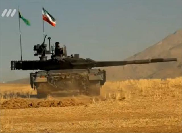 Iran to unveil new home-made main battle tank Karrar in the near future 640 001