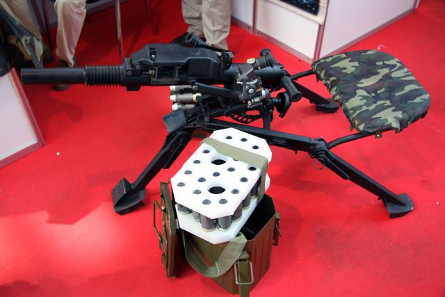 New AGS-40 Balkan 40mm automatic grenade launcher will enter in service with Russian army 640 001