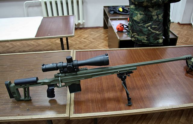 New sniper rifle from TsNIITOCHMASH will be delivered to the Russian secret services 640 001