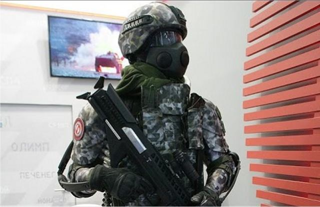 Reconnaissance units of Russian army has received a special version of Ratnik combat gear 640 001