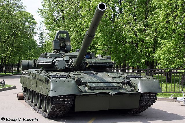 Russia Ministry of Defense plans to upgrade T-80BV MBT main battle tank 640 001