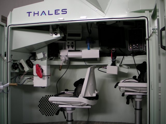 Thales delivers new generation training simulators for French Army AMX 10 RCR vehicles 640 001