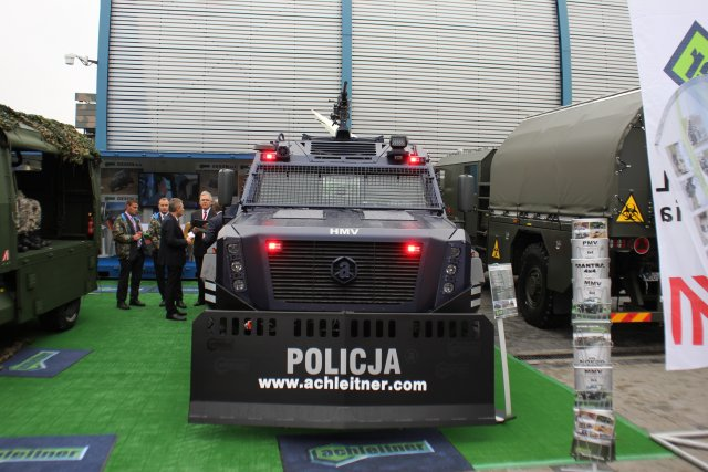 Achleitner presents its HMV SURVIVOR I at MSPO 2016 002