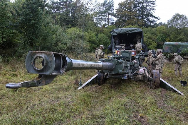 Defence Ministry of India has given the green light for the purchase of US M777 155mm howitzers 640 001