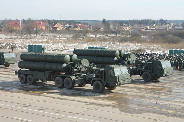 Russia has signed a deal with India for the purchase of S-400 Triumf air defense missile systems 640 001