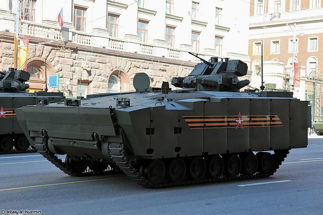 Russian Company Tractor Plants Group plans to test new Kurganets-25 tracked armoured in 2017 640 001