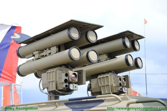The Russian Defense Ministry is finalizing the tests of the Kornet-EM (AT-14 Spriggan) antitank guided missile (ATGM) system, according to the Izvestia daily. The High-Precision Systems Holding Company, which subsidiary KBP is, has confirmed the fact of the testing to the Izvestia daily.