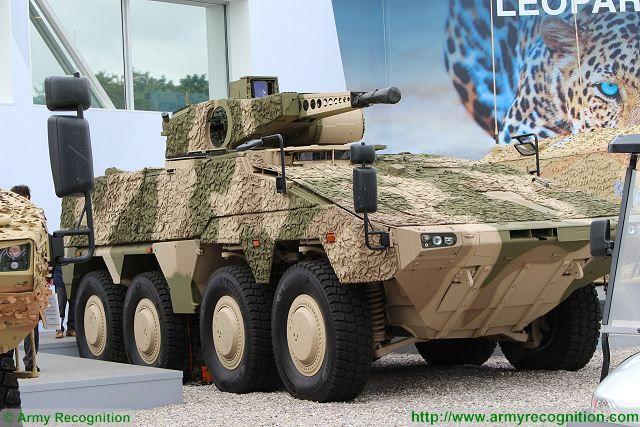 UK has selected the German Boxer as future 8x8 armoured infantry fighting vehicle for British army 640 001