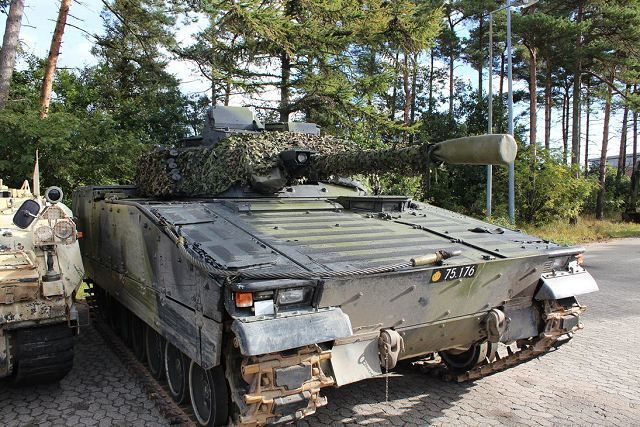 BAE Systems to provide support and upgrade for Danish CV90 IFV and BV206 all-terraine vehicles 640 002