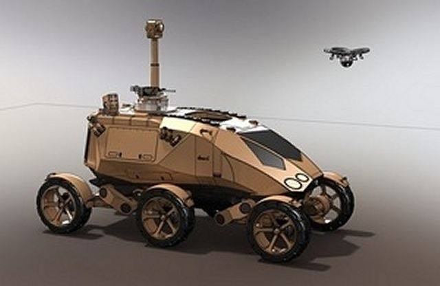 The UKs Defence Science and Technology Laboratory (DSTL) looks the future for new combat vehicles based on new technologies and to the new face of modern warfare. Modern technologies mean that future armoured vehicles could be very different from the heavy tracked vehicles in service today. (Source: GOV.UK)