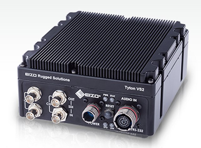 EIZO Rugged Solutions Announces Rugged H 265 HEVC Video Encoder with Dual 3G SDI Inputs 640 001