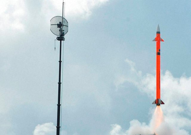 India successfully test fires land based variant of its Barak 8 air defense missile system 640 001