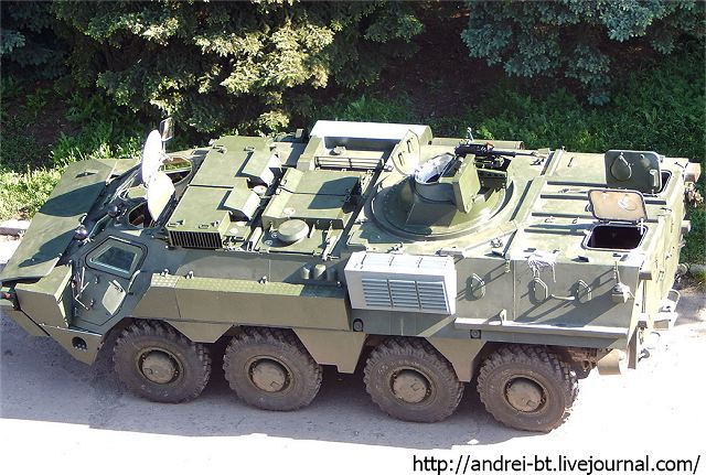 Ukraine defense industry has tested a new version of its 8x8 amphibious armoured vehicle personnel carrier BTR-4 fitted with anew remotely operated weapon station, according Andrei BT Live Journal Blog. Some of these vehicles were send to Indonesia to perform a series of tests.
