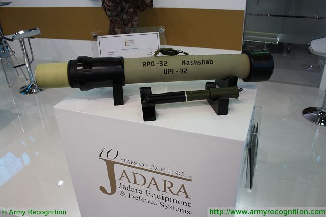 Jadara Equipment from Jordan to launch licensed production of RPG-32 Nashab anti-tank grenade 640 001