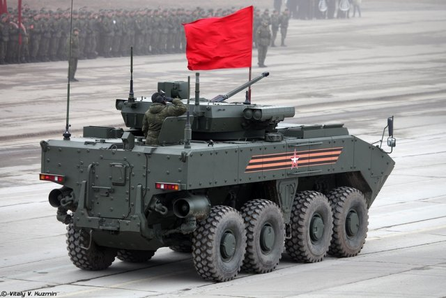 Russia Kurganets 25 and Bumerang infantry fighting vehicles to get new diesel engines 640 001
