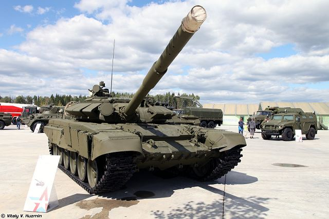 Russia could sell 170 T-72 main battle tanks to Sudan 640 001