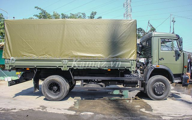 Russian Company KAMAZ to deliver KAMAZ-43253 4x2 military truck to Army of Vietnam 640 001