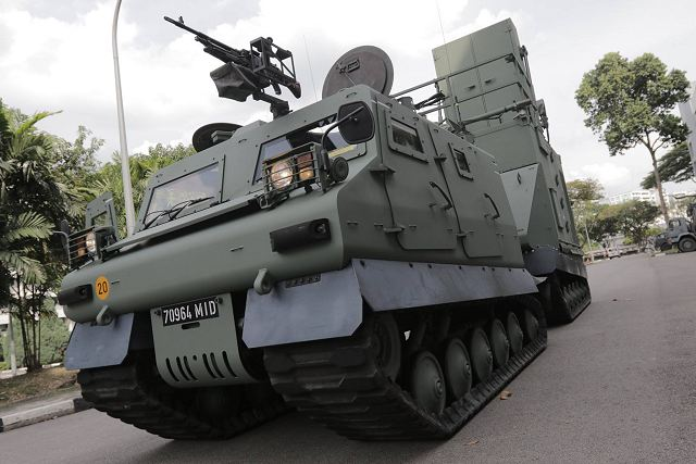 SAFARI Weapon Locating Radar enters in service with the Singapore Armed Forces 640 001