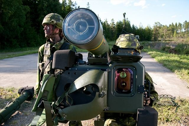 Saab receives order for RBS-70 NG 640 001