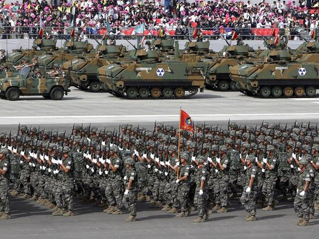 South Korea increases 2017 military budget by 4 001