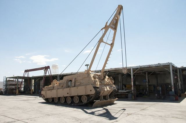 BAE Systems contract from US Army for technical support on M88A1 M88A2 recovery armoured 640 001