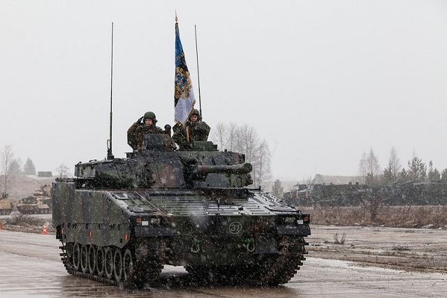 BAE Systems contract to maintain CV9035 IFV Infantry Fighting Vehicles of Estonian Army 640 001