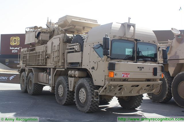 Brazil continues to have interest for Pantsir S1 Russian made short range air defense system 640 002