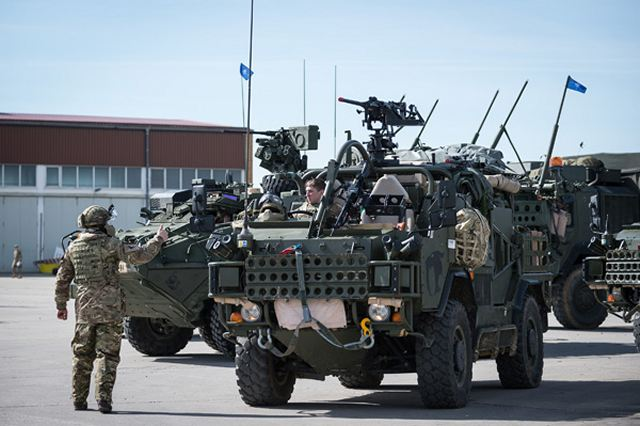 British soldiers from Light Dragoons regiment are deployed in Poland as NATO Forward Presence 640 001