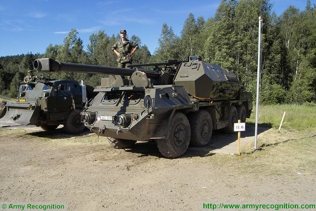 Company TATRA will modernize 33 Dana 8x8 152mm self propelled howitzers for Czech Army 640 001