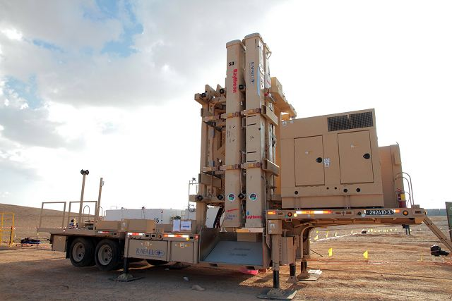 Davids Sling air defense missile system enters officially in service with armed forces of Israel 640 001