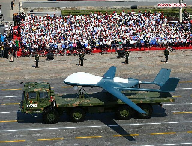 Defense industry of China has developed a new UAV named TYW 1 based on BZK 005 drone 640 002