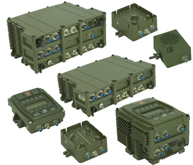 Denmark vehicles will be fitted with Thales SOTAS communication system 640 001