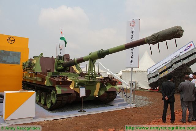 Government of India has given the go ahead for acquisition of 100 K9 155mm howitzers 640 001