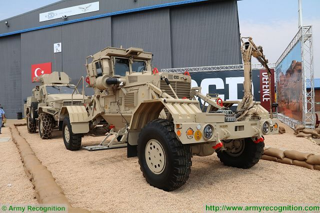 Husky 2G mine detection vehicles for Egypt Saudi Arabia  Jordan and Latvia 640 001