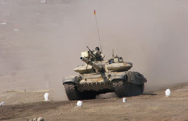 India has started talks with Russia to upgrade 1000 T 90S main battle tanks 640 001