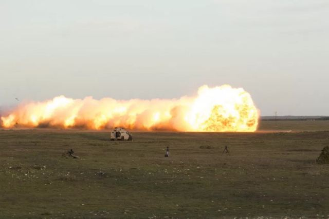 International customer orders Rheinmetall Denel Munition of South Africa mine clearing equipment 640 001